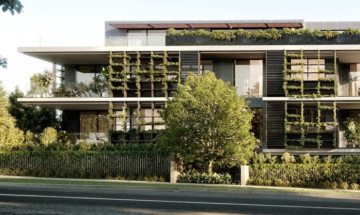 The Springfield - 30 Springfield Avenue, Toorak. Image: Chapter Group
