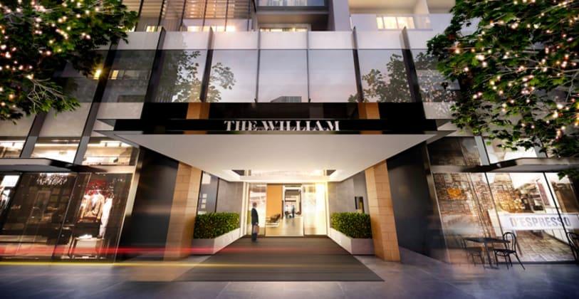 The William - 199 William Street, Melbourne. Image © 199william.com.au