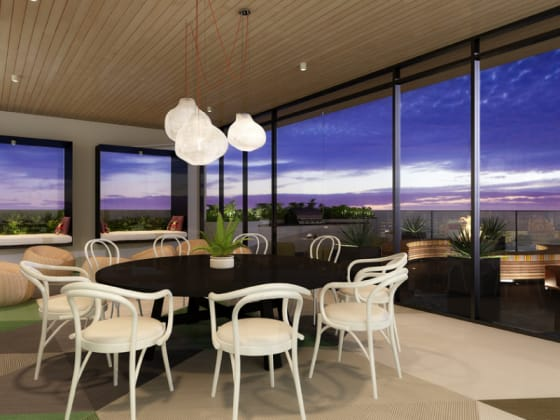 WLSN Rooftop interior - Image © Spec Property