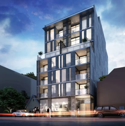 The WLSN - 7 Wilson Street, South Yarra. Image © Spec Property