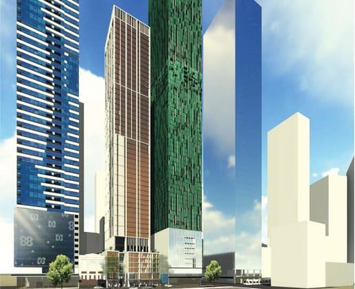 478-488 Elizabeth Street, Melbourne. Planning Image: Nettleton Tribe