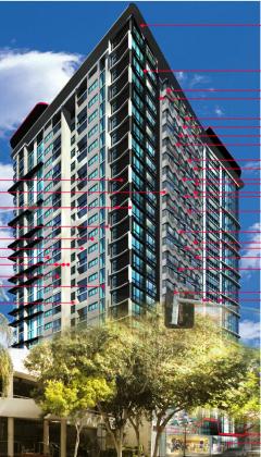 Utopia Space - 275 Wickham Street, Fortitude Valley. Planning Image: Kris kowalski Architects