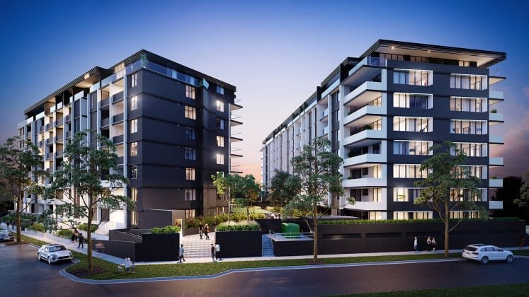 Vicinity Point - 30-32 Guess Avenue, Wolli Creek. Image: St Trinity Property Group