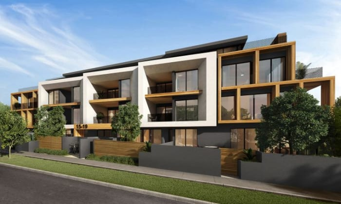 Vickery Apartments - 15 Vickery Street, Bentleigh. Image: Steller