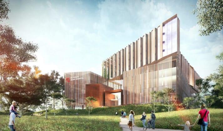 Victorian Heart Hospital, Clayton. Image: John Wardle Architects + Conrad Gargett