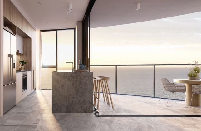Vue Broadbeach - 10-12 First Avenue, Broadbeach. Image: Andrews Projects