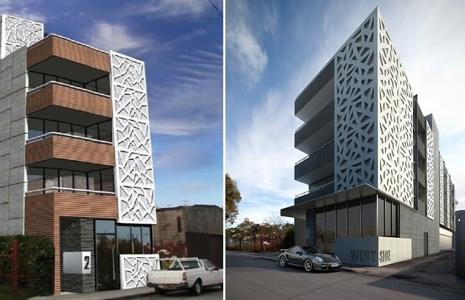 Westside - 4 West Street, Brunswick. Image © westsideapartments.com.au
