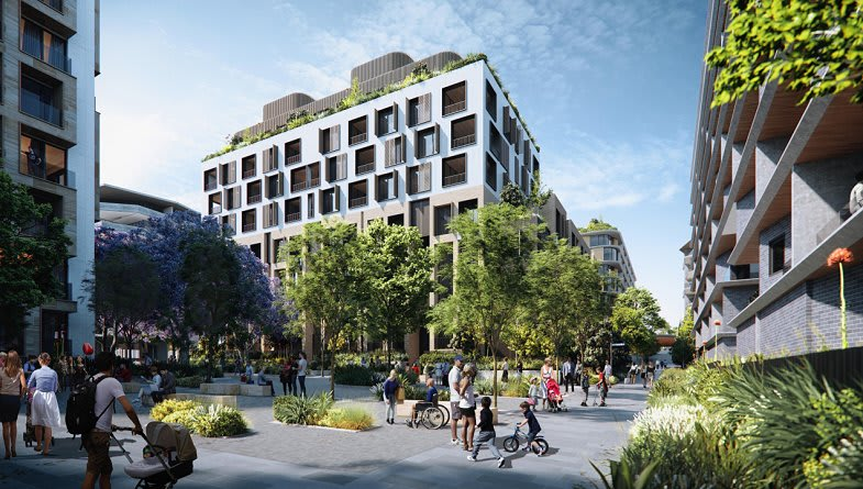 Tallawong Station Precinct South destined for intensive urban renewal