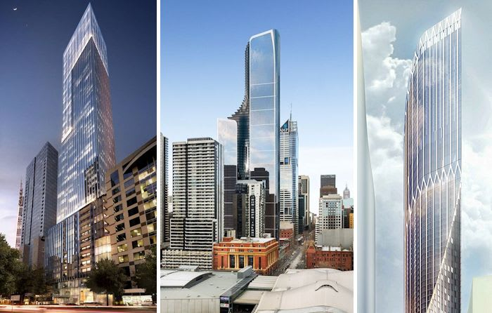 News on three further skyscrapers rounds out an eventful week