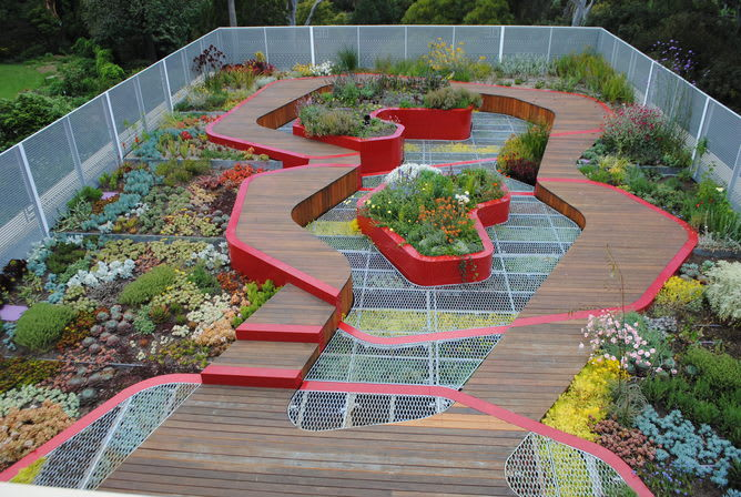 Green roofs and walls - a growth area in urban design
