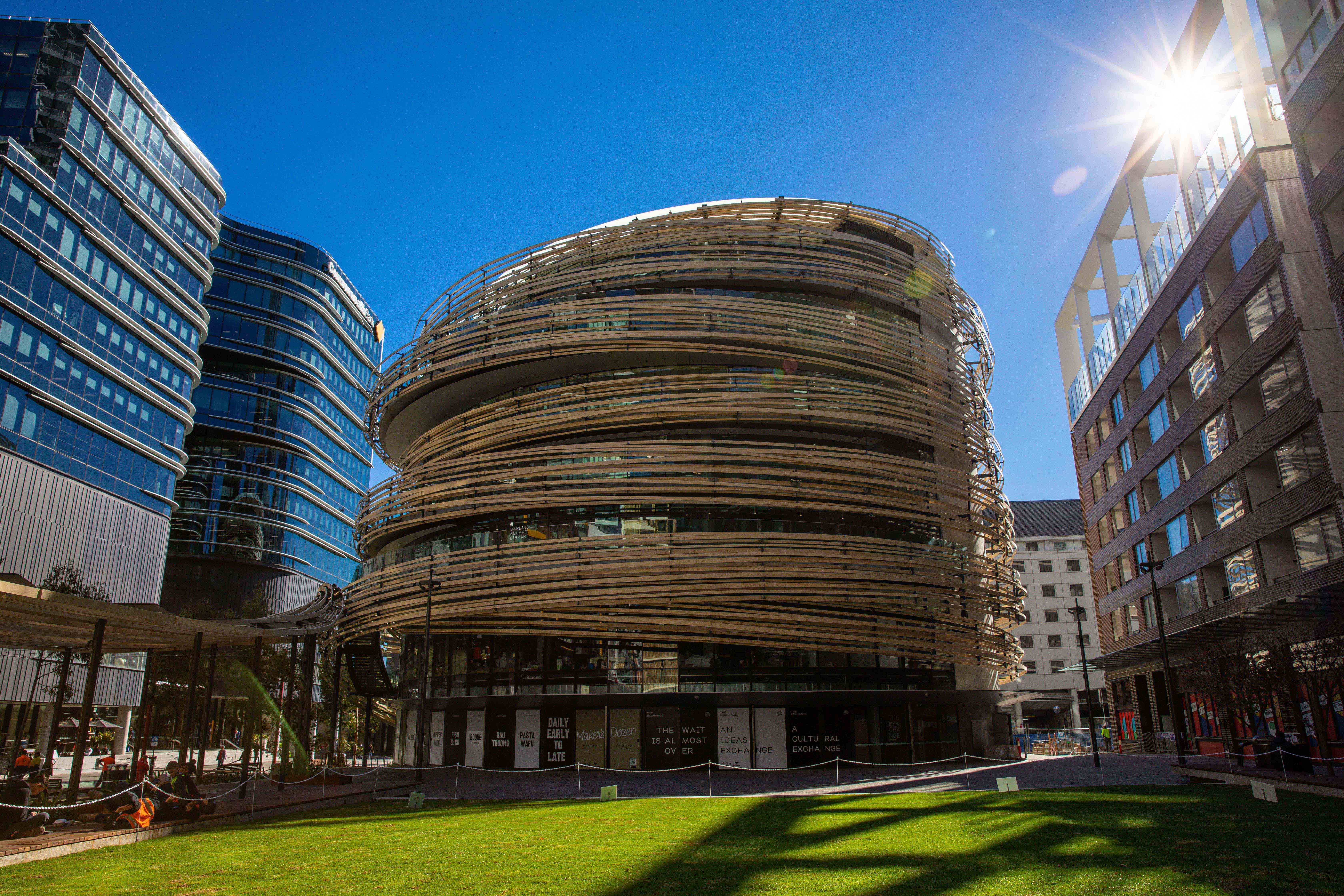 City of Sydney and Lendlease open state-of-the-art Darling Square Library