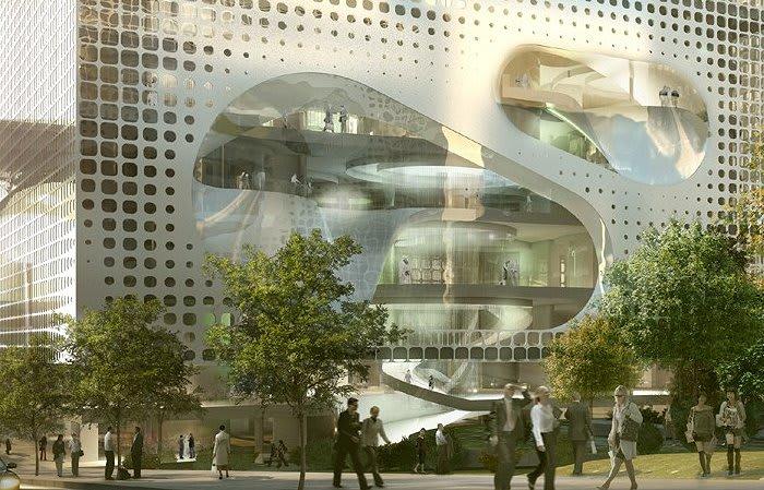 Five UNStudio designs worthy of a Melbourne address
