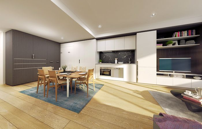 Convertible Spaces: the next innovation in apartment living