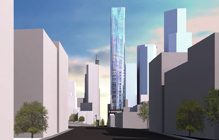 Planning application: 295-309 King Street, Melbourne