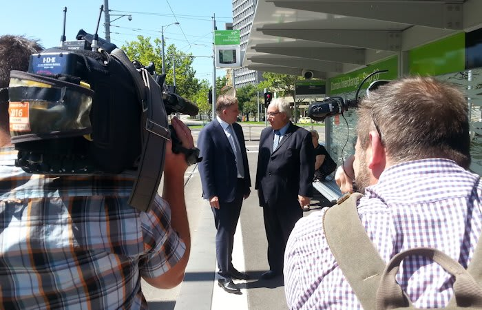 Federal Opposition promises to help fund Melbourne Metro project