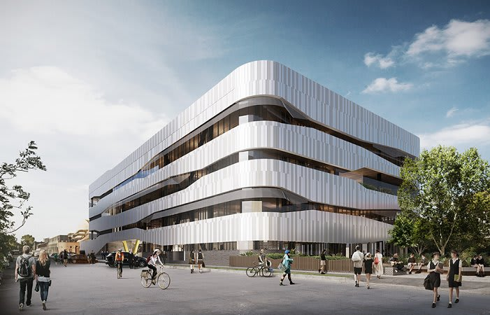 Hayball provides design commentary on Melbourne's latest vertical school