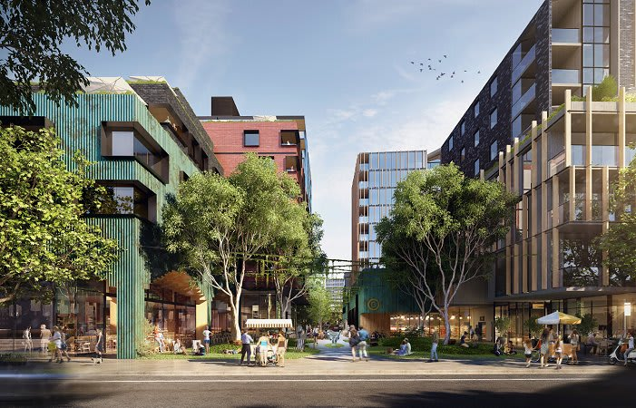 West Melbourne's destination development begins construction