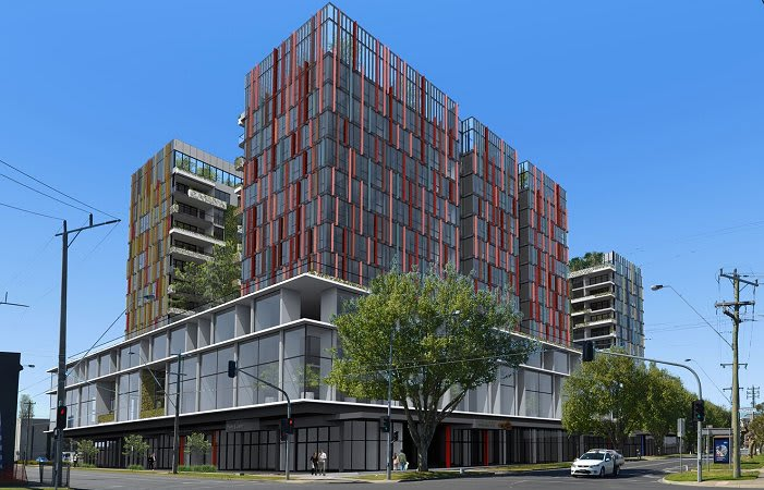 Community benefits and a Green Star rating underpin Fishermans Bend's latest proposal