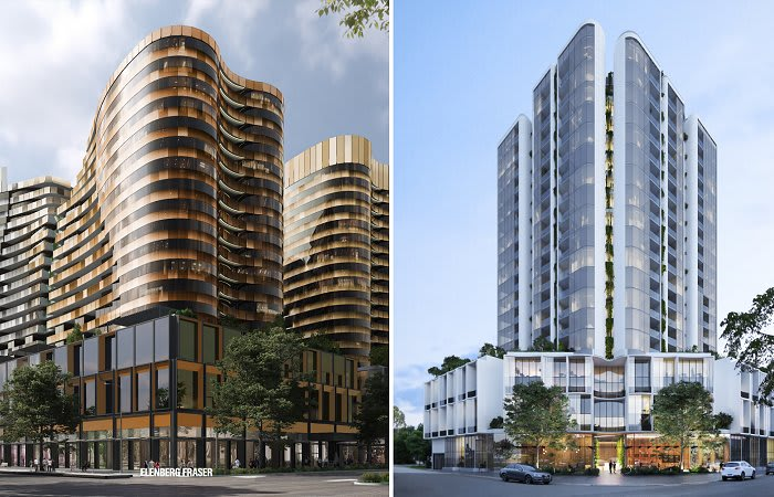 CoPP provides limited joy for two Fishermans Bend proposals