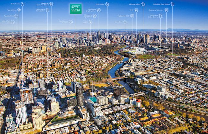 C&L International land in Melbourne with Royal Como
