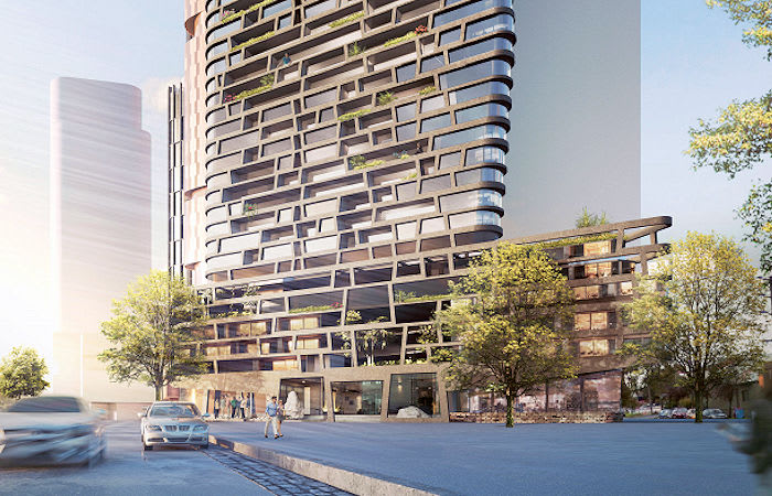 272-280 Normanby adds to Hayball's dominant Fishermans Bend portfolio