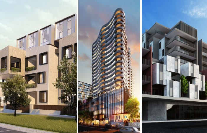 Footscray's churning apartment pipeline reaches 40 separate projects