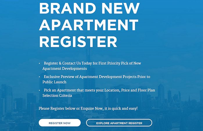 Apartment Register and Urban Melbourne - it's just the beginning