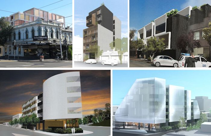 New applications roll into City of Port Phillip