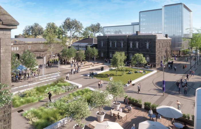 Placemaking at Pentridge for an improved social and design outcome