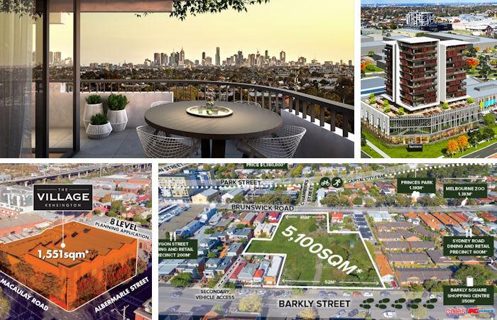Current suburban development sites reinforce the prevailing development trend