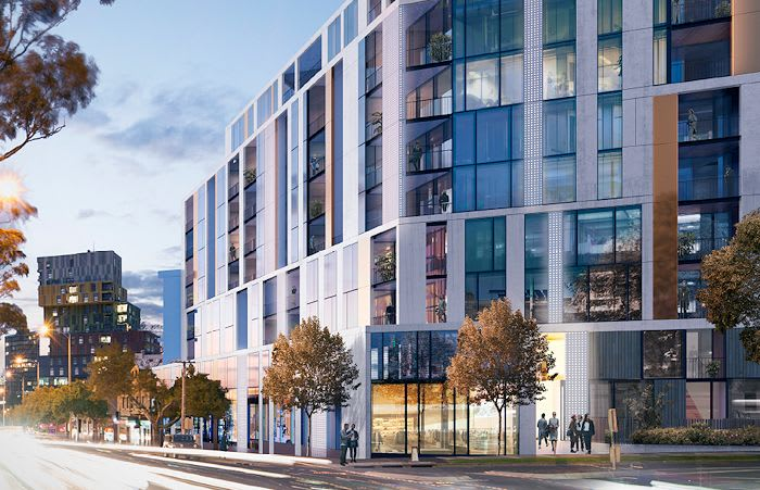 Spacious and Hayball team up to create two new residential projects