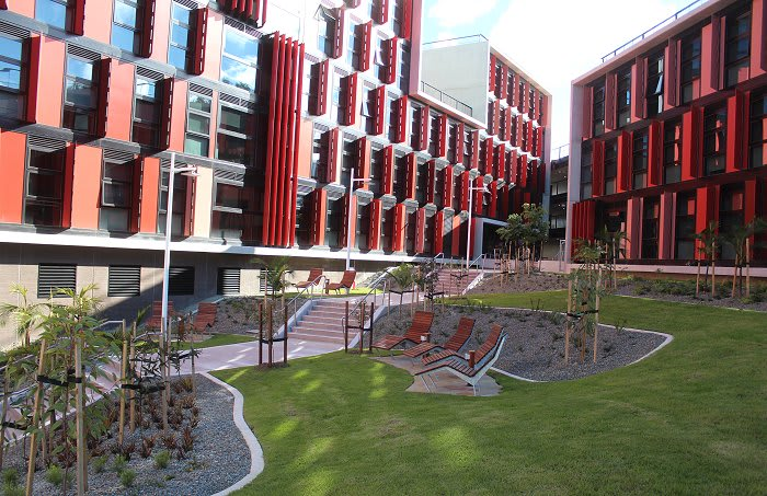 Deakin Burwood's new student accommodation building embraces the space