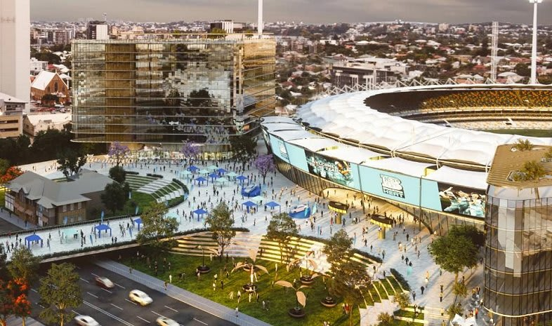 The Gabba's redevelopment at the heart of a wider precinct regeneration