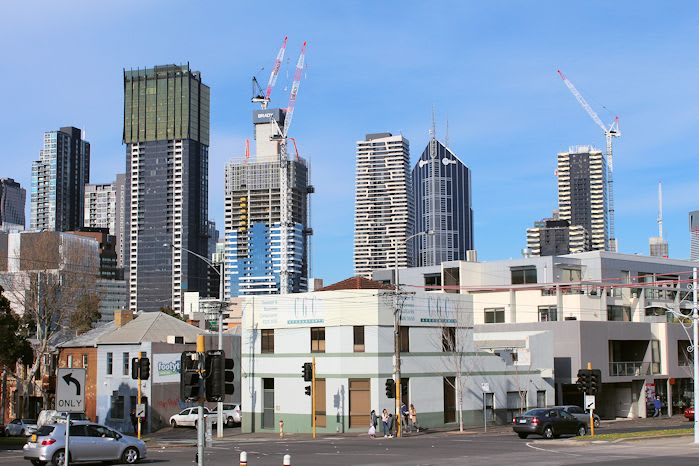 Northern lights: the incredible rate of change in Melbourne's northern CBD