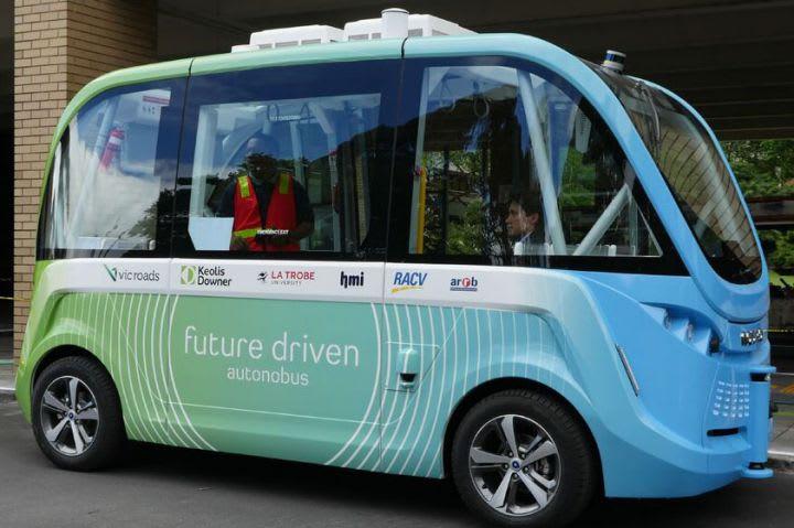 Victoria starts trial of an 'autonobus' at La Trobe University
