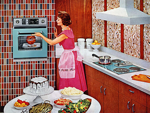 1960s housewife, Image credit: James Vaughan, Flickr reproduced under CC BY-SA 2.0