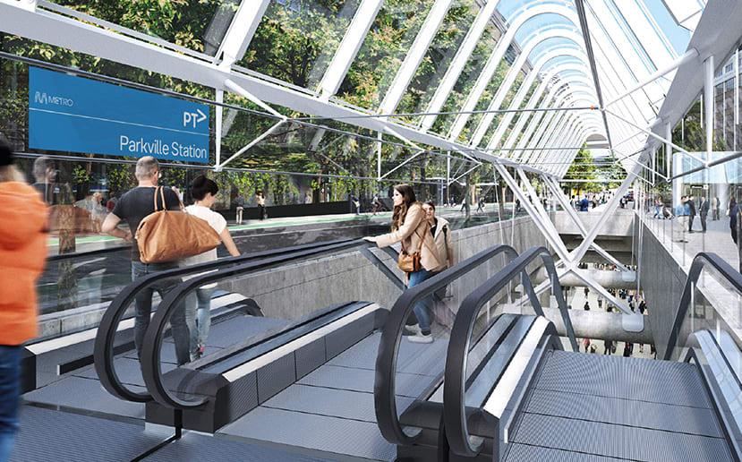 Major construction kicks off at Parkville's new station