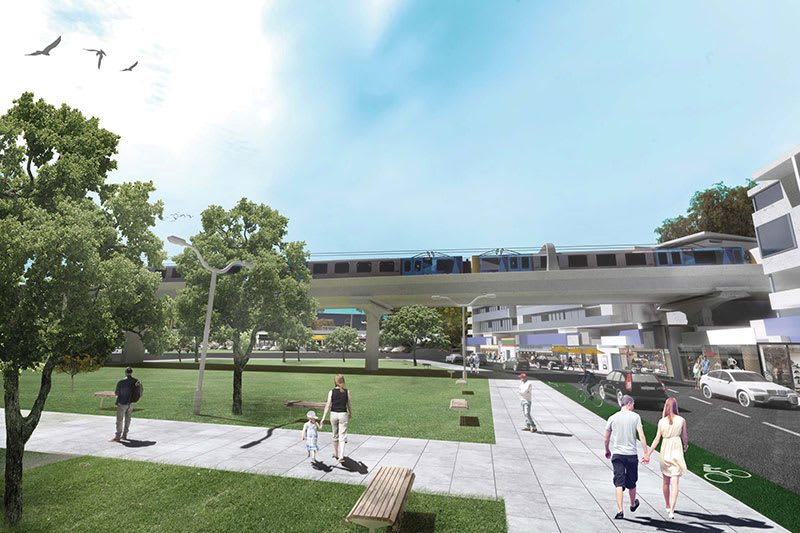 Croydon station and how its relationship with the local area might change