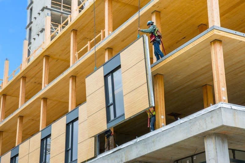 The cost efficiency of mid-rise timber structures