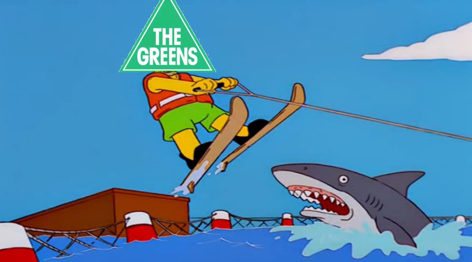 Wham Tram Thank You Ma'am - Have the Greens jumped the shark again?