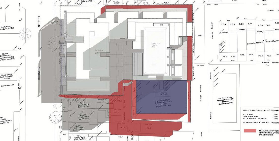 Planning Application > 203-213 Burnley St, Richmond