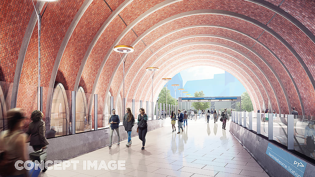 A closer look at the latest round of Melbourne Metro Station Designs