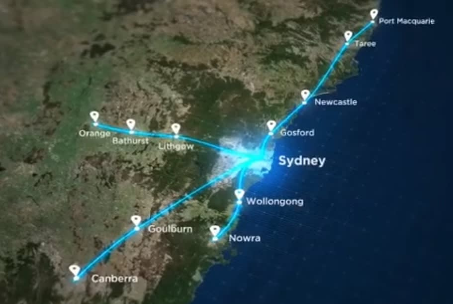Berejiklian government kicks off vision for regional fast rail in New South Wales