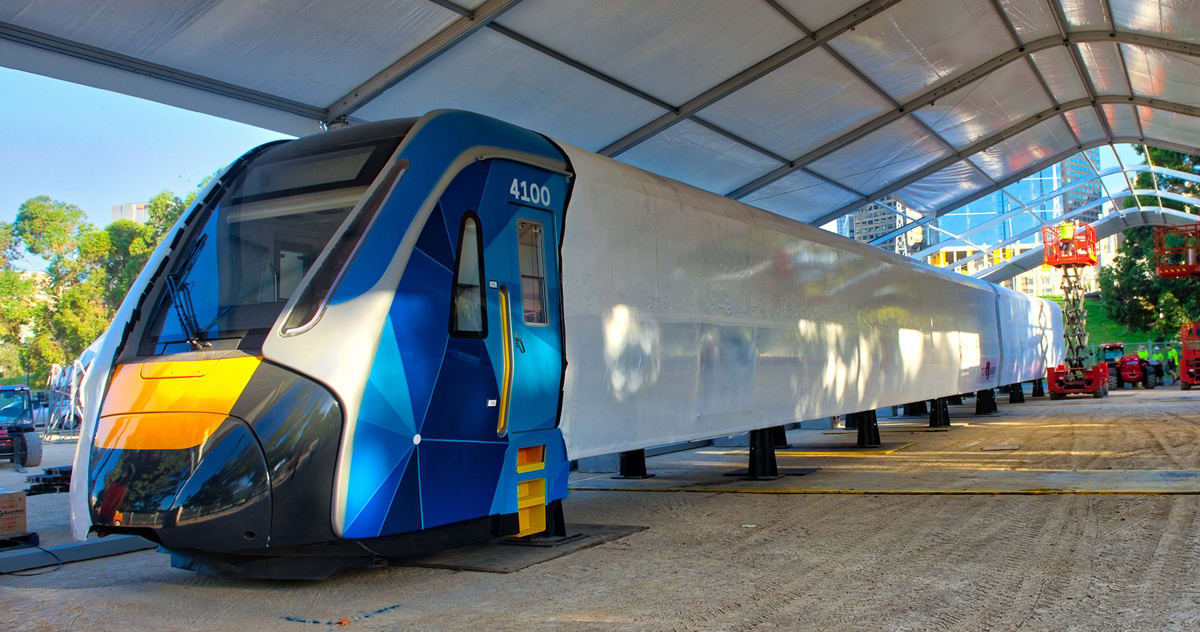 Manufacturing kicks off on Melbourne's High Capacity Metro Trains
