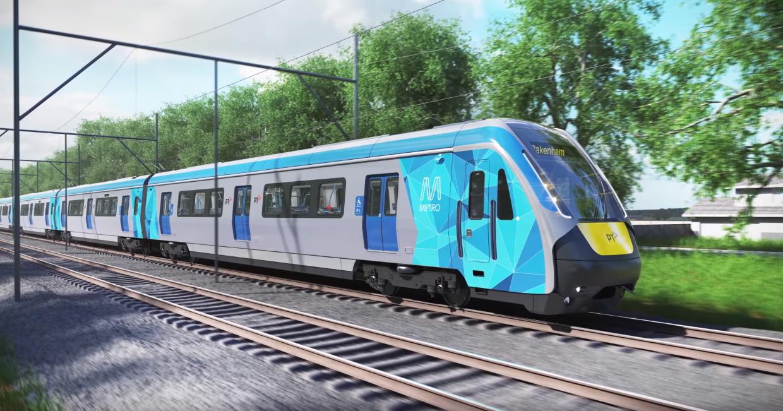 Next generation of Melbourne's train fleet unveiled