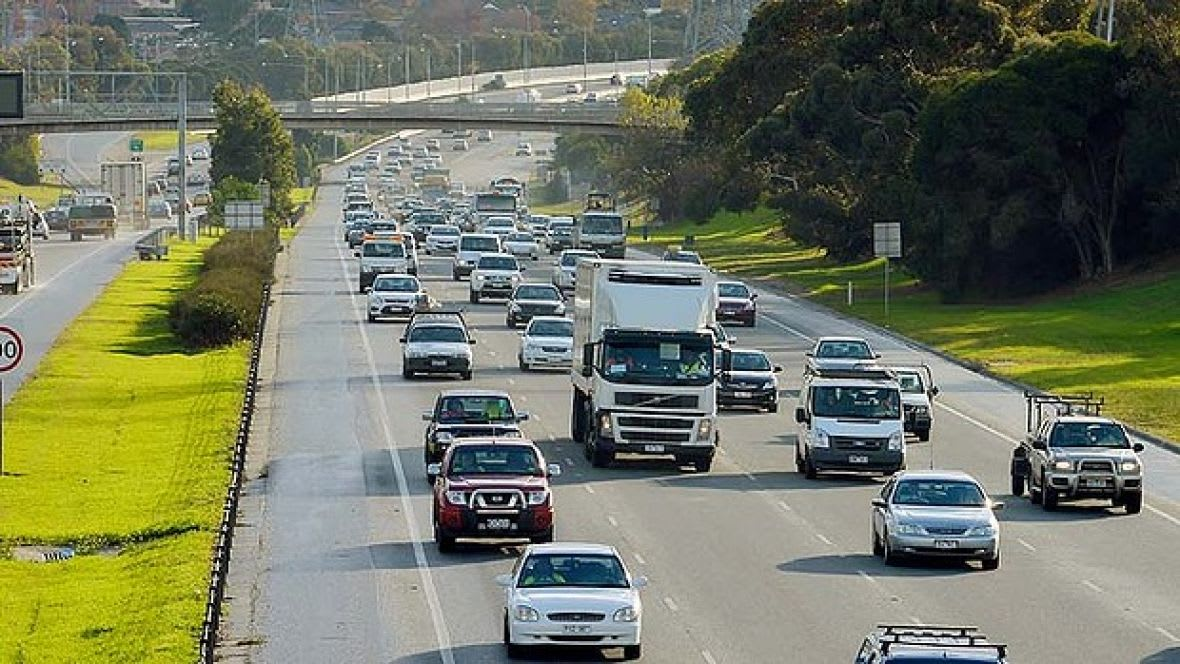 Memo Vicroads - move the travel time indicators on the Monash