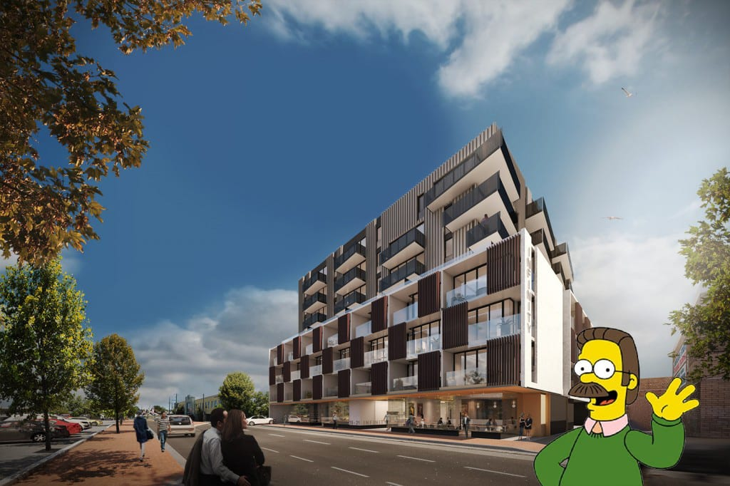 Apartments in the 'burbs? Oakleigh Dokily