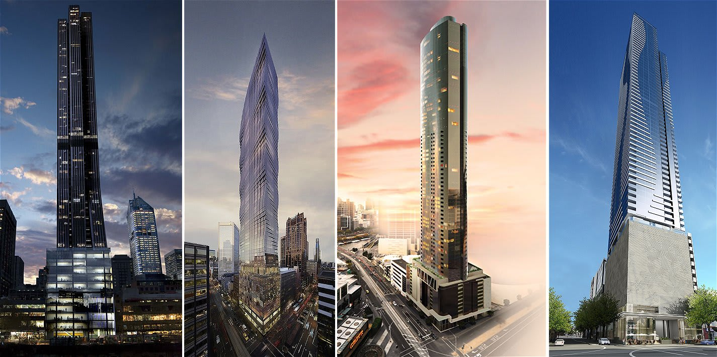 Are 200 metre residential towers the new norm for Melbourne?
