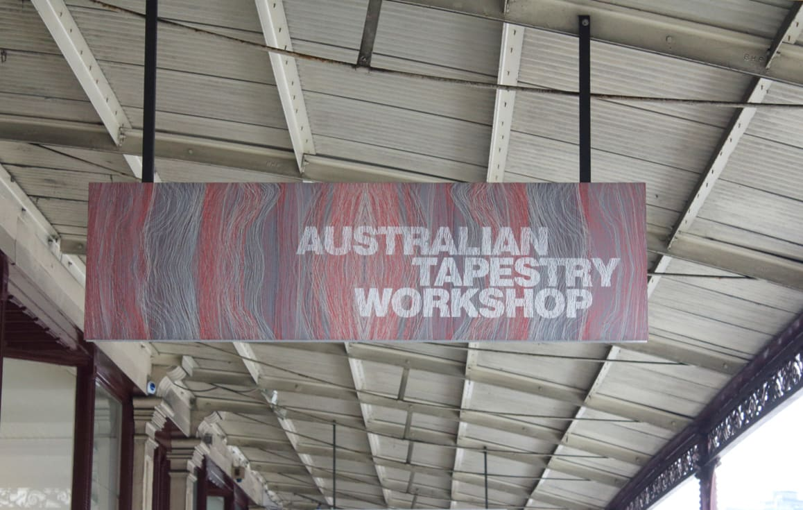 Weaving their magic - OHM 2014: Australian Tapestry Workshop