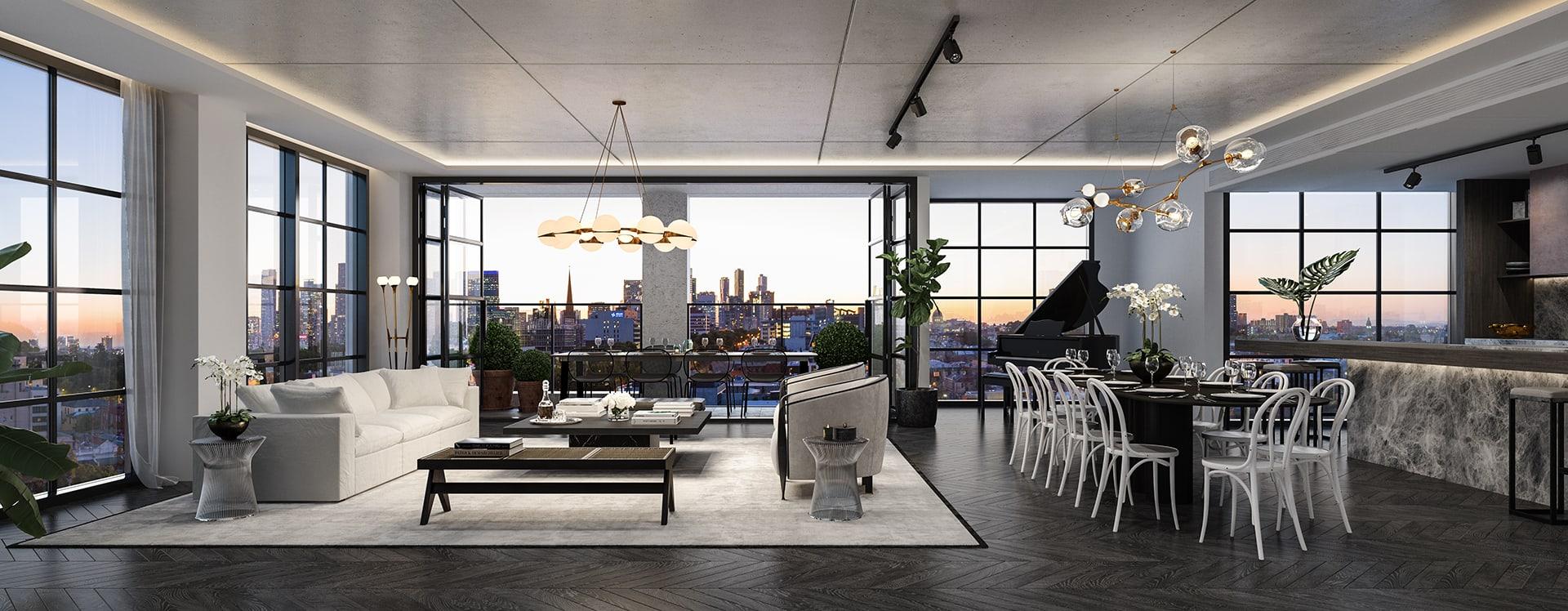 Luxury in Collingwood: A new Cox Architecture-designed precinct to transform an entire suburb block
